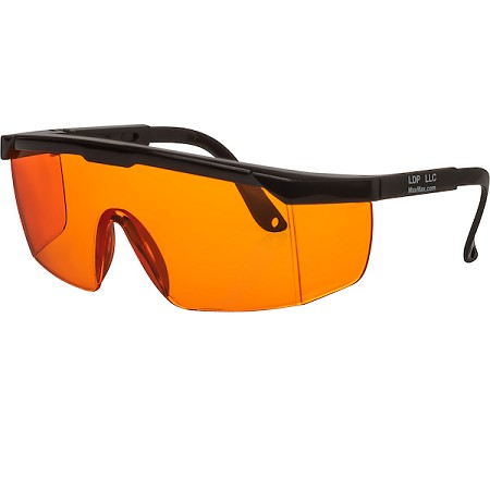 ORANGE Filter Forensic Safety Glasses